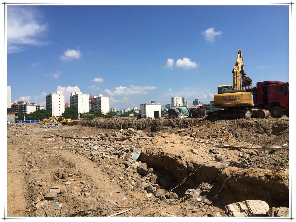 海甸岛环岛路二期(a段—1),c段贯通工程开工建设